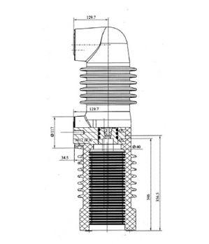 固封极柱 HEP-40.5/2500-31.5